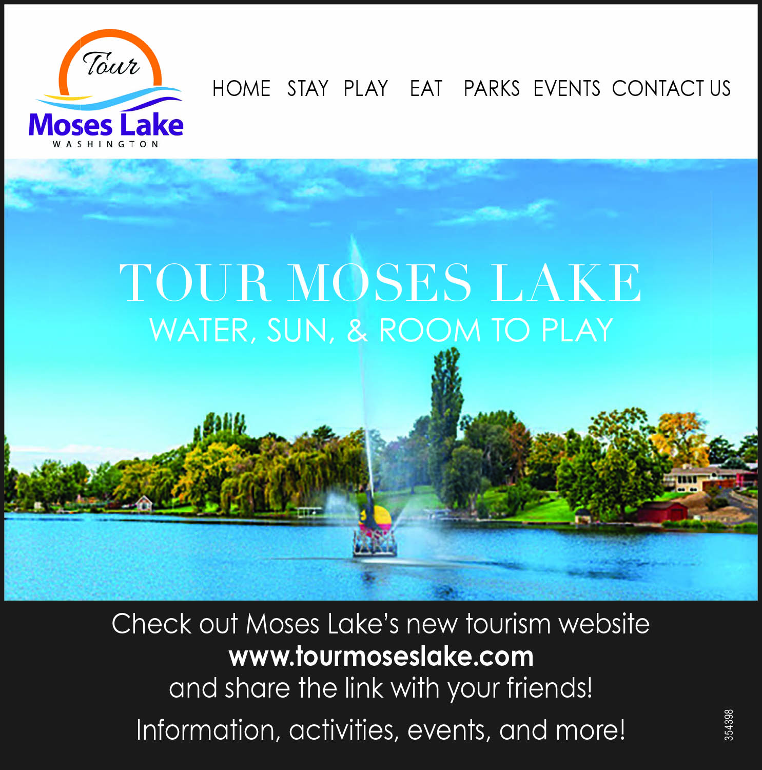Tour Moses Lake website launches