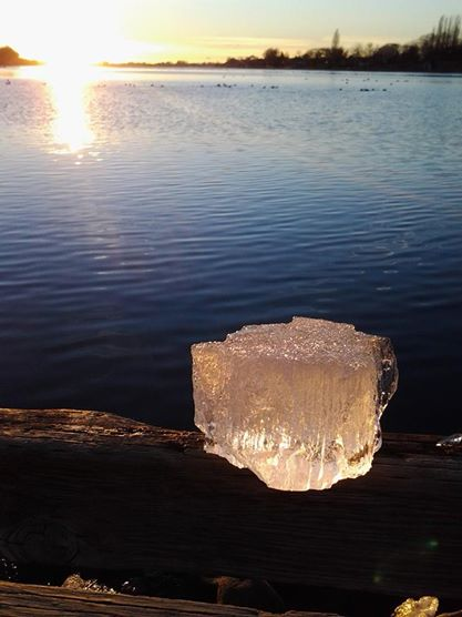 chunk of ice