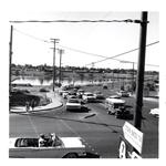 Alder and Broadway, looking north - 1961