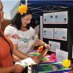 Latino Heritage Booth