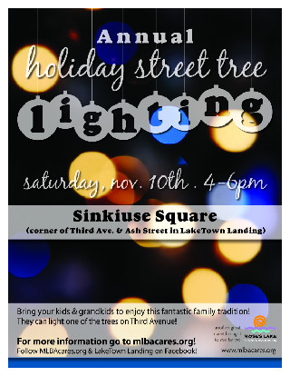 Street Tree Lighting flyer