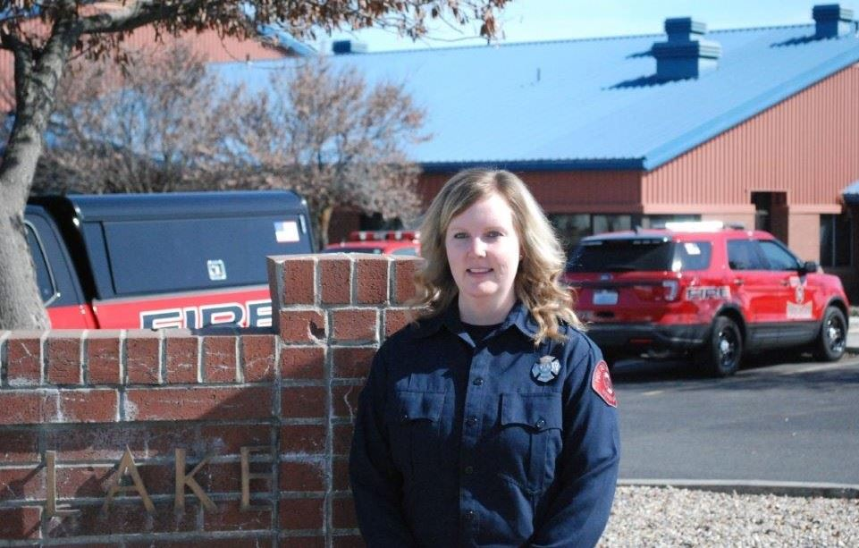 Samantha Wright Moses Lake&#39s first female Firefighter / Paramedic