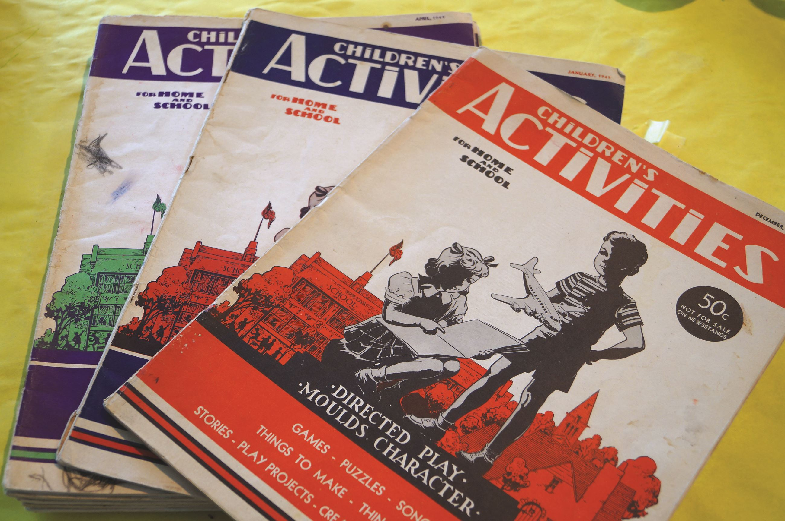 Children&#39s Activities workbooks