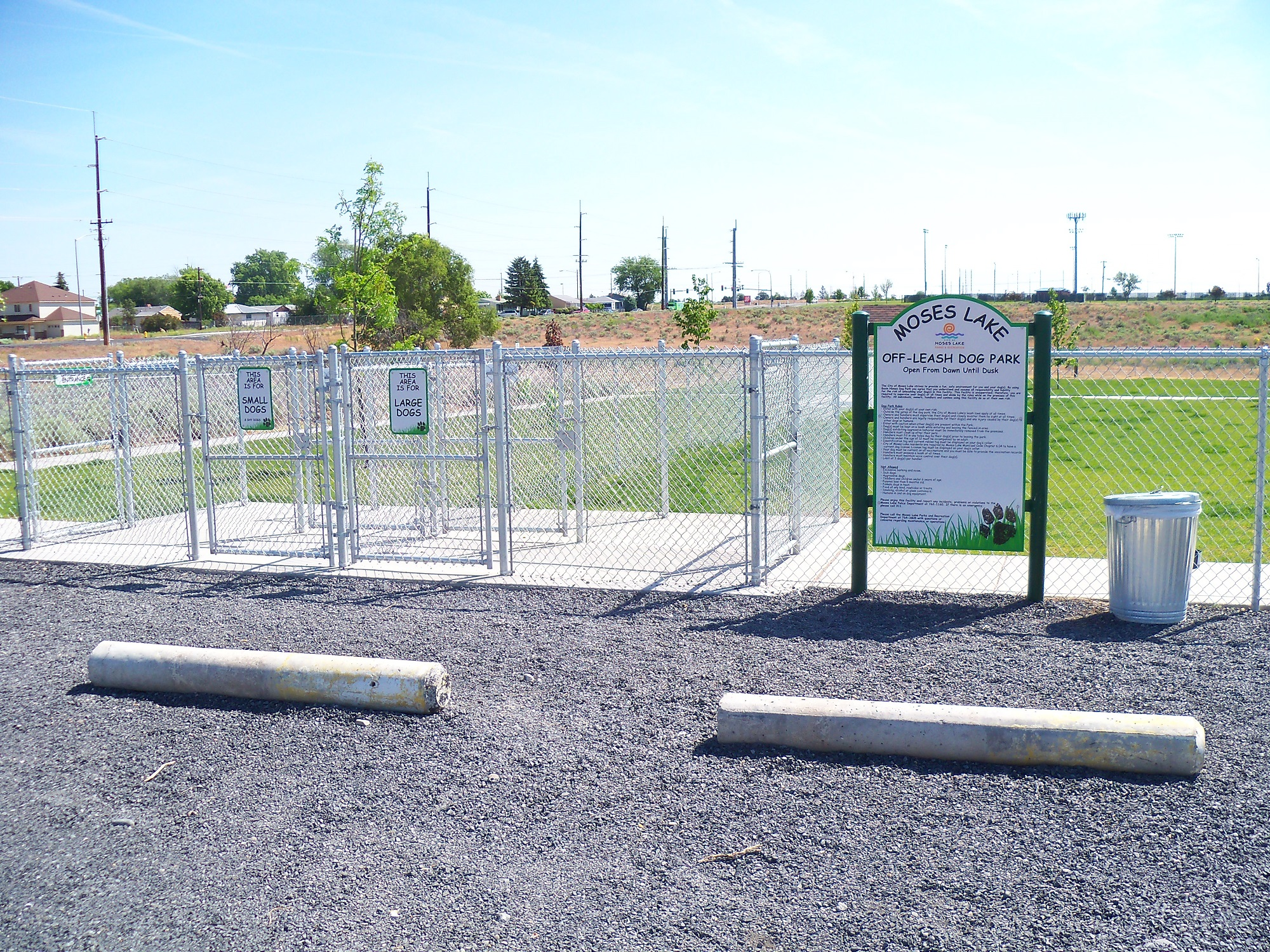 fencing at dog park